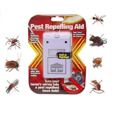 Electromagnetic pest repellant