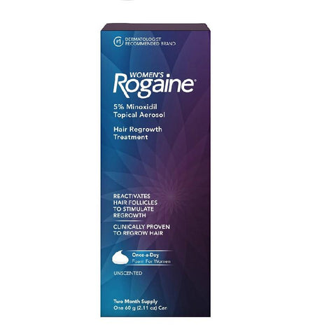 Women's Rogaine Hair Regrowth Treatment(2 Months)
