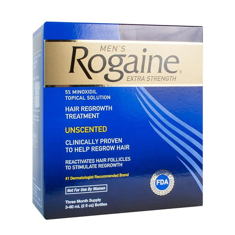 Rogaine for Men Hair Regrowth Treatment(3 Month Supply)