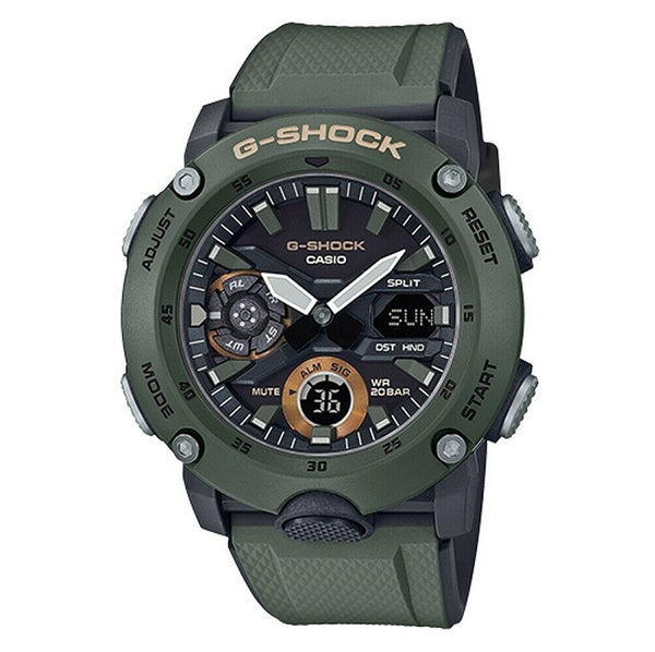 Casio G-Shock Carbon Core Guard Digital Watch(Green)