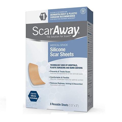 ScarAway Scar Removal Sheet For Face,Body,Burn&Surgical(1.5