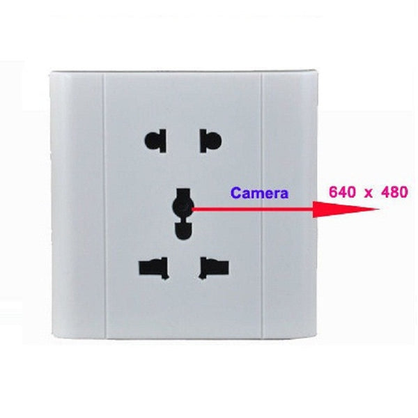 home wall socket camera