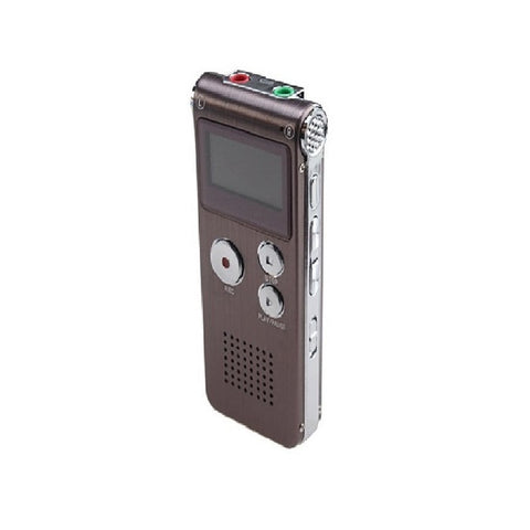 Rechargeable 8GB Digital Audio Voice Recorder