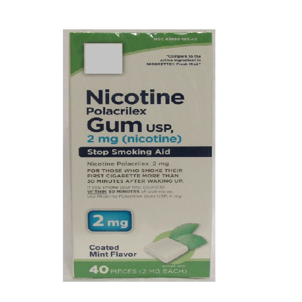 Quit Smoking Nicotine Gum (2mg)