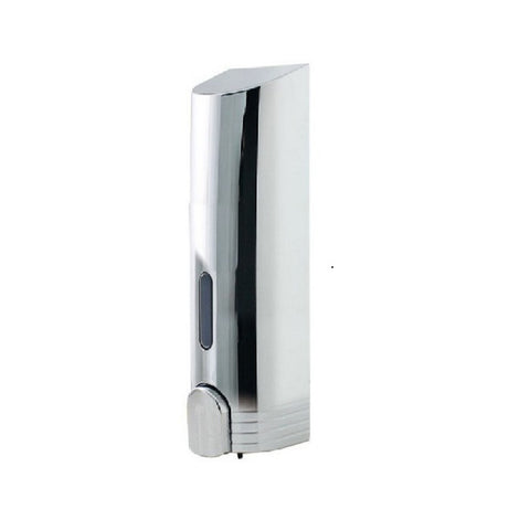 Silver Tall Liquid Soap Dispenser