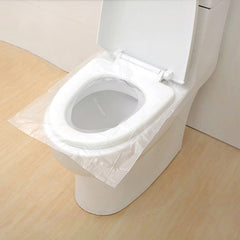50PCS DISPOSABLE WATERPROOF TOILET SEAT COVER