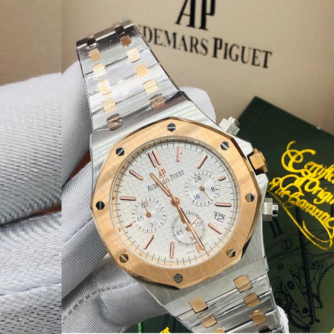 Audemars Piguet Royal Oak Automatic Two-Tone Chronograph Watch