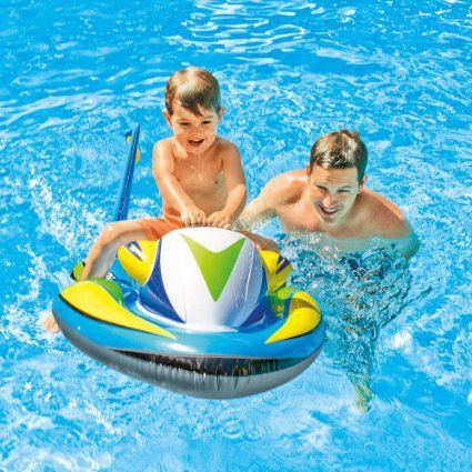 KIDS INFLATABLE WAVE RIDER POOL FLOAT(117CM*77CM)