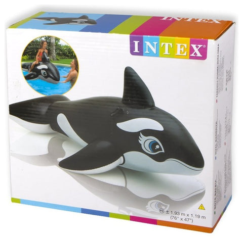INTEX WHALE RIDER INFLATABLE POOL FLOAT(193CM*119CM)