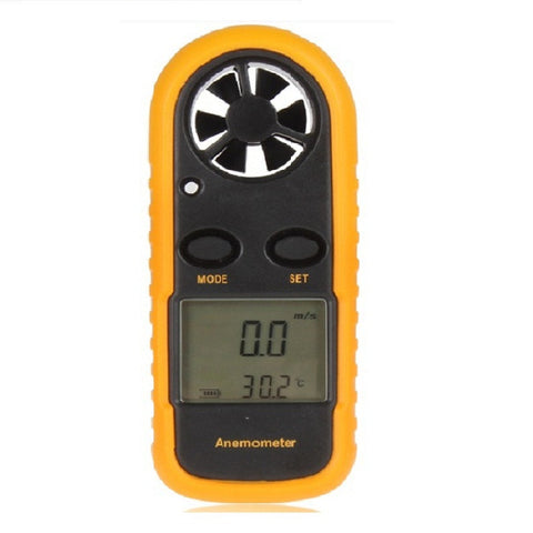 Digital Hand-held Wind Speed Meter /Anemometer Thermometer