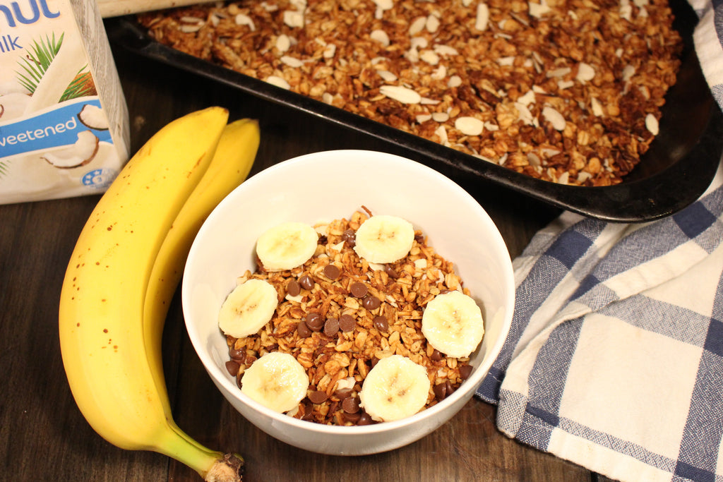 Peanut Butter and Banana Granola
