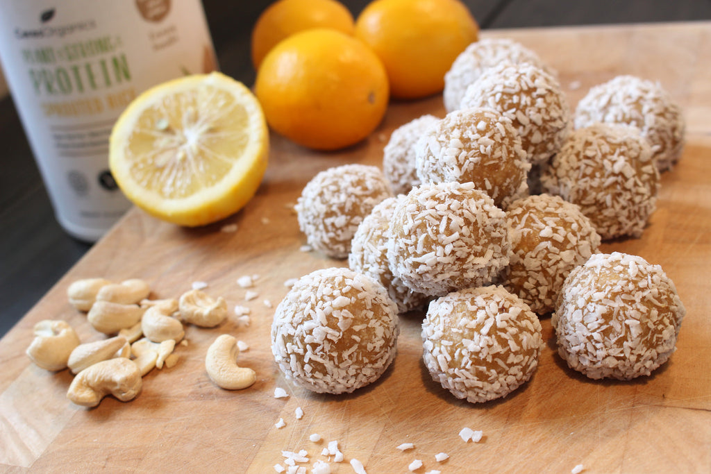 Raw Lemon and Coconut Balls