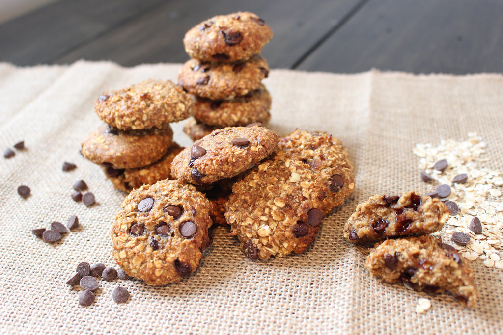GF Chocolate Chip Oat Cookies