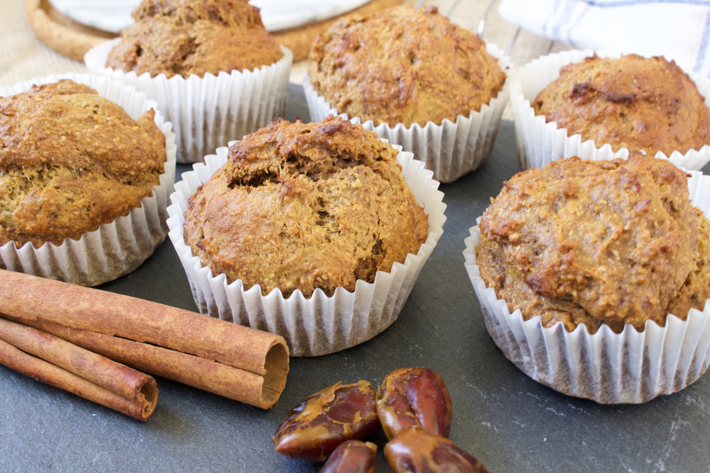 Cinnamon and Date Muffins