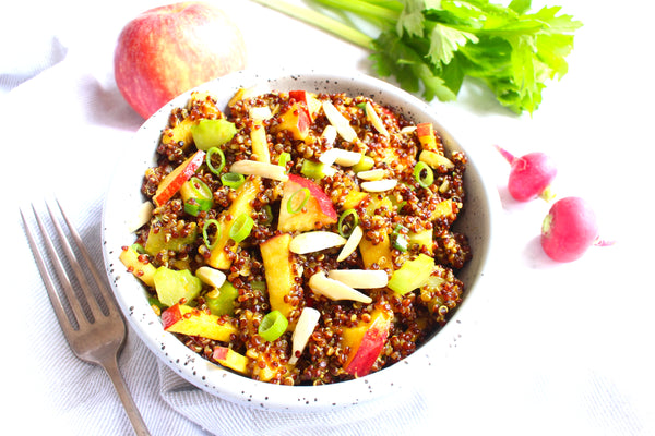 Apple & Almond Quinoa Salad