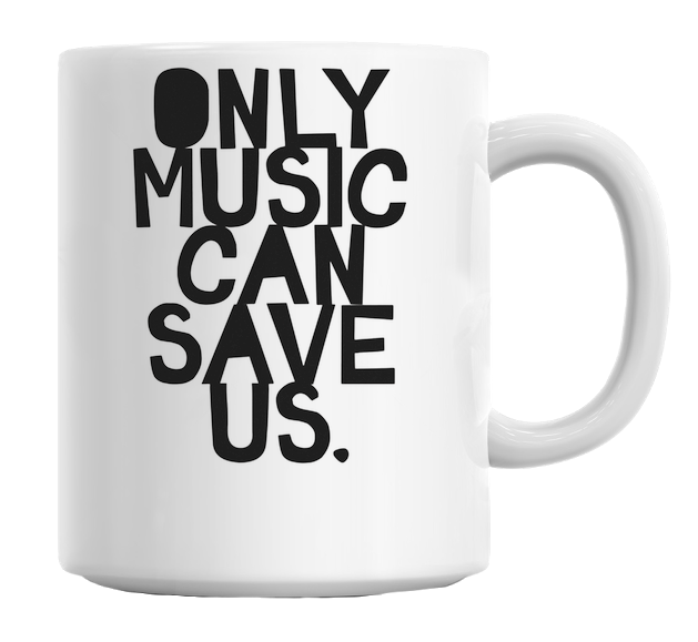 Music Can Save Us Mug