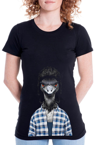 Women's Emu Fitted Tee