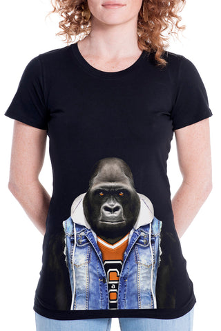 Women's Gorilla Fitted Tee