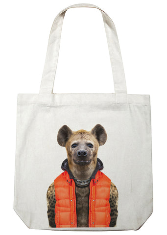 Hyena Canvas Bag
