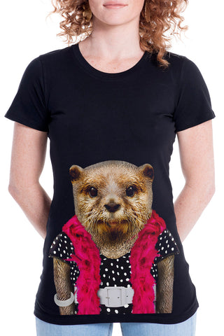 Women's Otter Fitted Tee