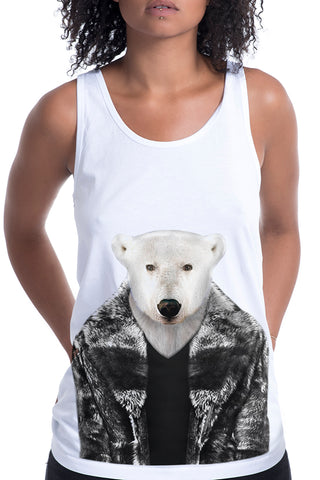 Women's Polar Bear Singlet