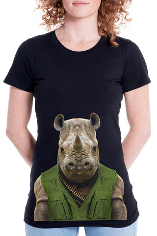 Women's Rhino Fitted Tee