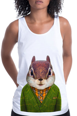 Women's Squirrel Singlet
