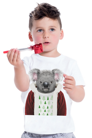 KIDS CHRISTMAS KOALA T-SHIRT