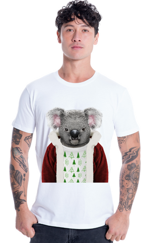 MEN'S CHRISTMAS KOALA T-SHIRT