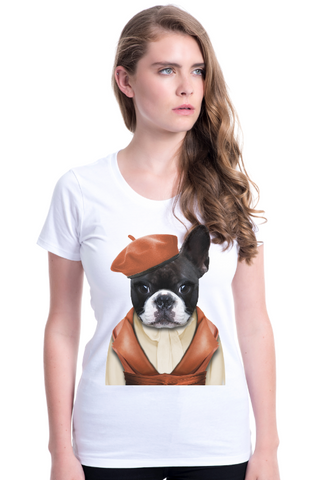 Women's Miss Frenchie Fitted Tee