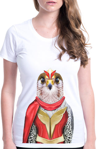 Women's Falcon Wonderful Fitted Tee