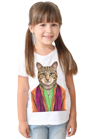 Kid's Cat T-Shirt