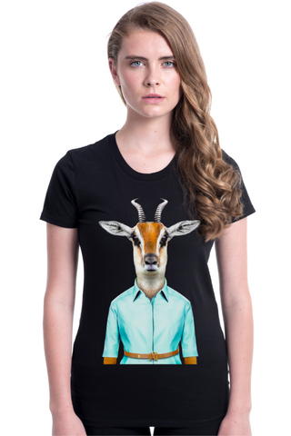 Women's Gazelle Fitted Tee