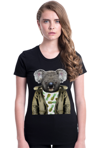 Women's Koala Fitted Tee