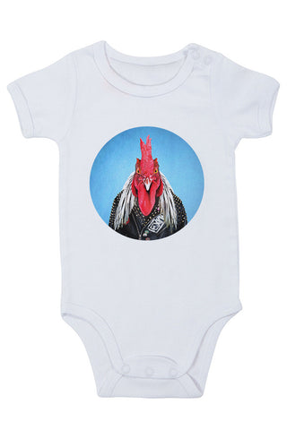 Rooster Baby Grow