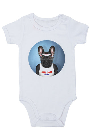 Frenchie Baby Grow