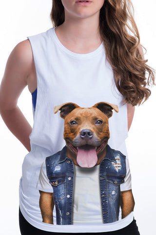 Women's Staffy Tank
