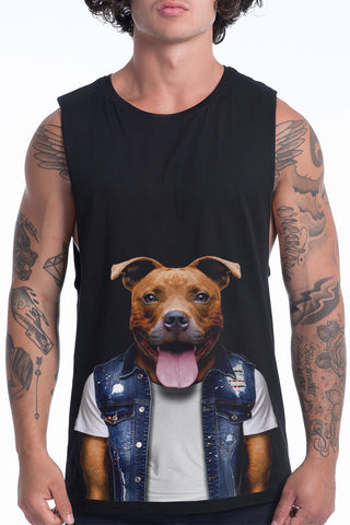 Men's Staffy Tank