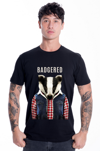 BADGERED T-Shirt