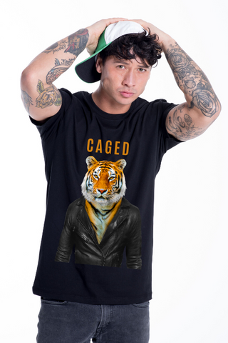 CAGED Tiger T-Shirt