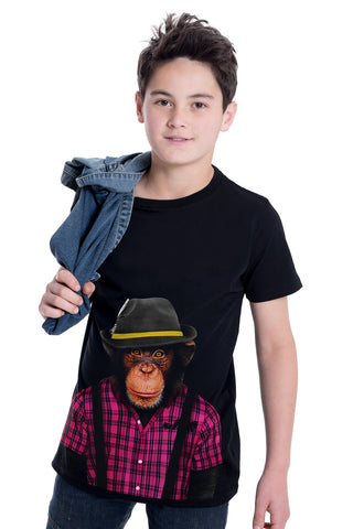 KIDS MONKEY T-SHIRT - KID'S TEE