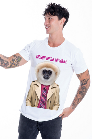 Gibbon up the nightlife T-Shirt
