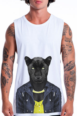 Men's Panther Female Tank