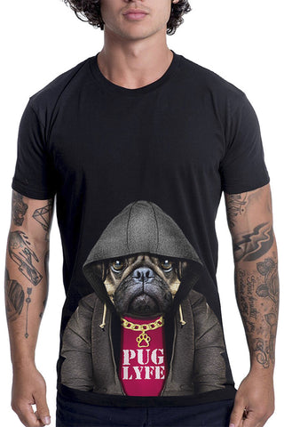 Men's Puglyfe T-Shirt - Classic Tee, Black