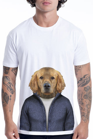 Men's Retriever T-Shirt - Classic Tee, White