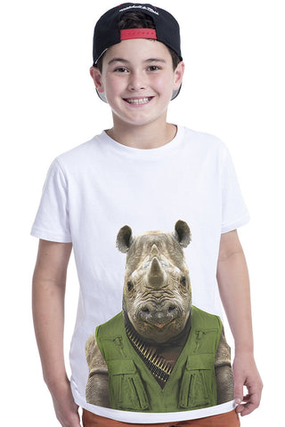 Kids Rhino T-Shirt - Kid's Tee