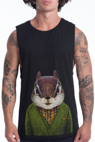 Men's Squirrel Tank