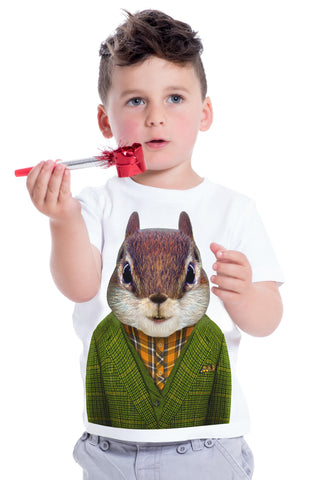 Kid's Squirrel T-Shirt