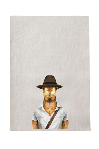 Camel Tea Towel