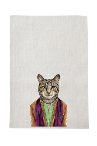 Cat - Tea Towel